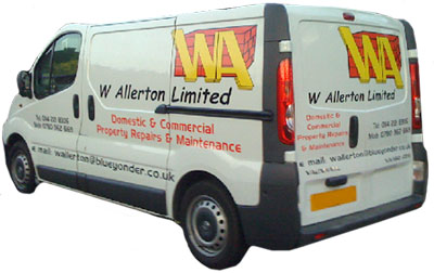 Property repairs, building, maintenance, Sheffield